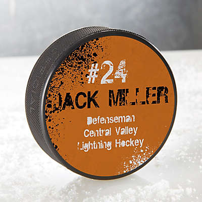 You Name It Hockey Puck