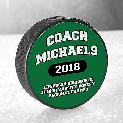 Our Coach Hockey Puck
