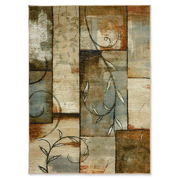 Alternate image 1 for Mohawk Home Patchwork Multicolor 5' x 7' Area Rug