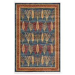 Unique Loom Mesquite Nomad Rug in Blue