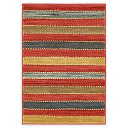 Unique Loom Monterey Nomad Multicolor 2'2 x 3' Accent Rug