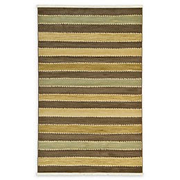 Unique Loom Monterey Nomad Powerloomed Rug in Brown