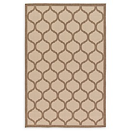 Unique Loom Moroccan Indoor/Outdoor Rug in Beige