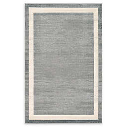 Unique Loom Maria Del Mar Powerloomed Rug in Grey