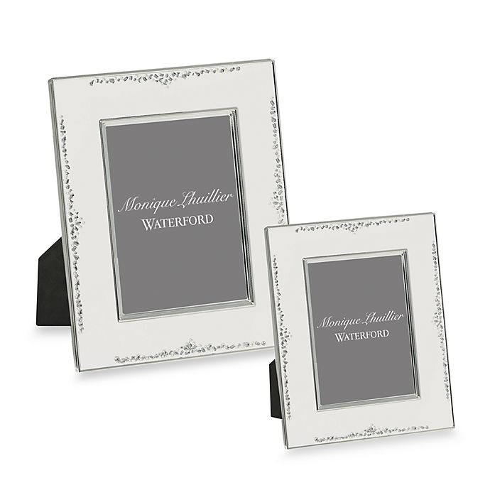 Monique Lhuillier Waterford® Modern Love Picture Frame | Bed Bath ...