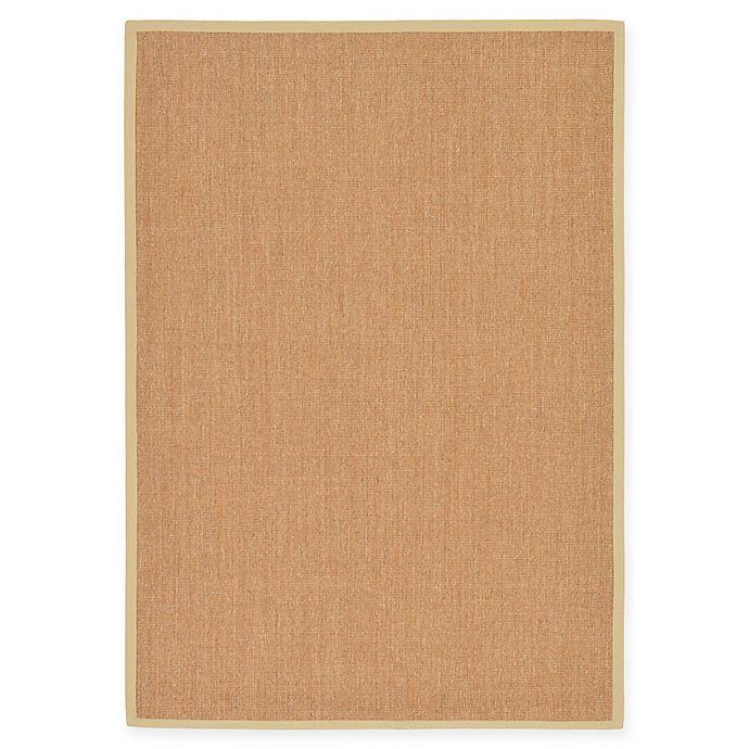 Alternate image 1 for Unique Loom Sandy Sisal 7' X 10' Powerloomed Area Rug in Light Brown/beige