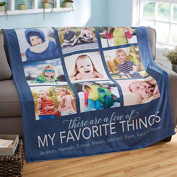 Alternate image 1 for My Favorite Things Fleece Blanket
