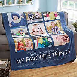 My Favorite Things Fleece Blanket