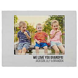 Photo Collage for Him 60-Inch x 80-Inch Fleece Blanket