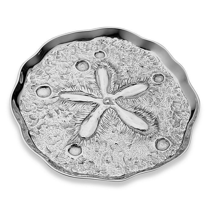 Alternate image 1 for Wilton Armetale® SeaLife Sand Dollar 14.5-Inch Tray
