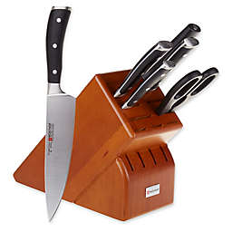 Wusthof® Classic IKON 7-Piece Knife Block Set in Cherry