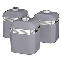 Salton® 3-Piece 1-Liter Retro Canister Set