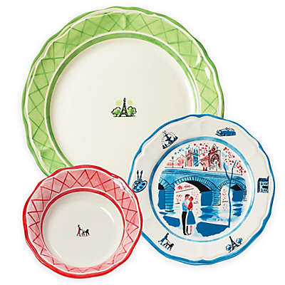 Euro Ceramica An American In Paris Dinnerware Set