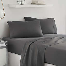 UGG® Sunwashed Twin XL Sheet Set in Charcoal
