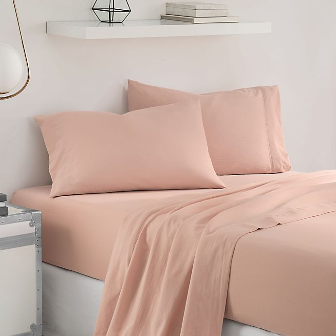 Alternate image 1 for UGG® Sunwashed Twin XL Sheet Set in Quartz