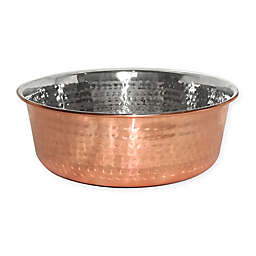 Neater Pet Brands® Hammered Stainless Steel Pet Bowl
