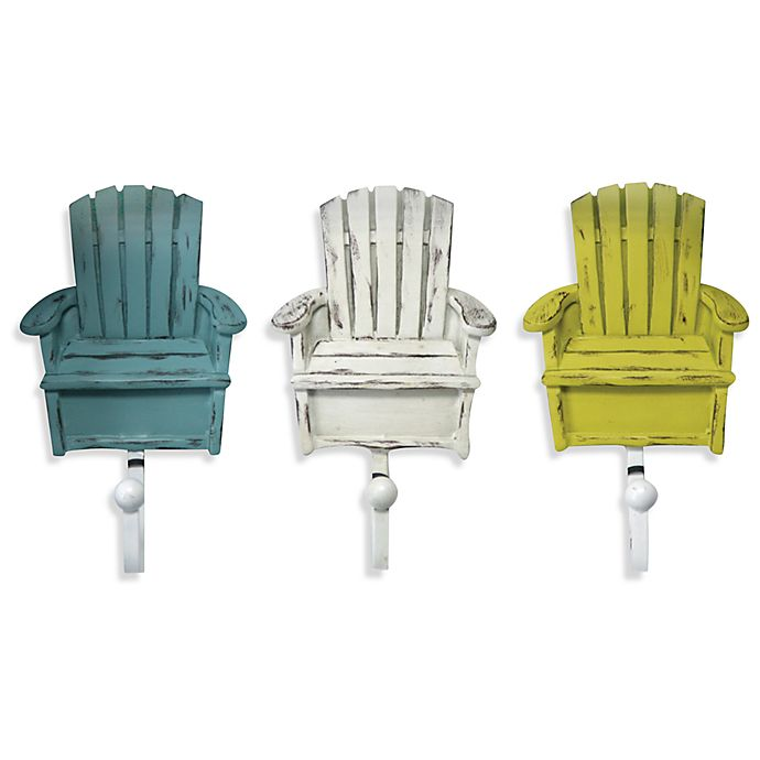 d6e301a4966 Beach Chair Sculpted Resin Hooks