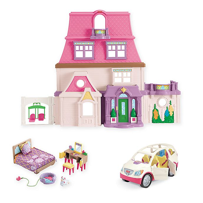 Fisher Price Loving Family Dollhouse And Furniture