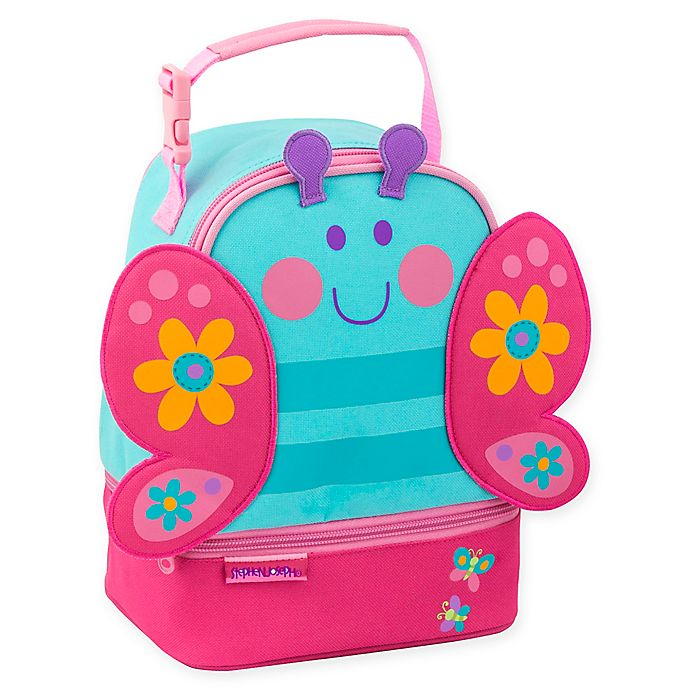 Alternate image 1 for Stephen Joseph® Butterfly Pal Lunch Box