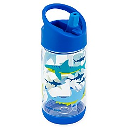 Stephen Joseph® 10 fl. oz. Shark Flip Top Bottle