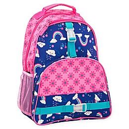 Stephen Joseph® Rainbow Print Backpack in Pink