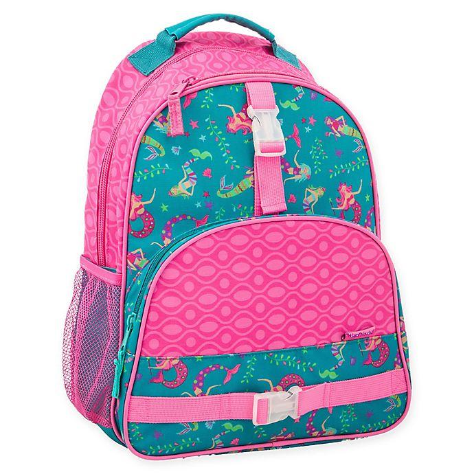 Alternate image 1 for Stephen Joseph® Rainbow Print Backpack in Pink/Teal