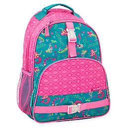 Stephen Joseph® Rainbow Print Backpack in Pink/Teal