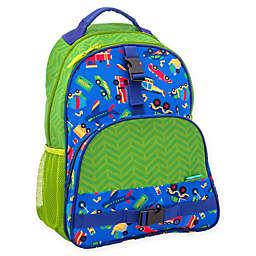 Stephen Joseph® Transportation Print Backpack in Green