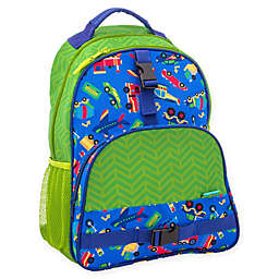 Stephen Joseph® Transportation Print Backpack in Green