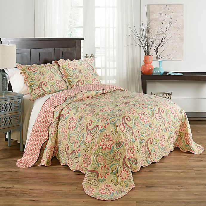 Waverly Wildcard 3 Piece Reversible Quilt Set Bed Bath Beyond