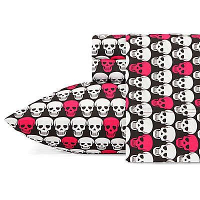 Betsey Johnson® Skulls Sheet Set