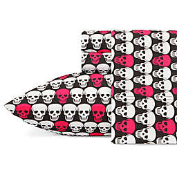 Betsey Johnson® Skulls Sheet Set
