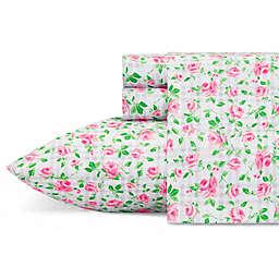 Betsey Johnson® Plaid Roses Sheet Set