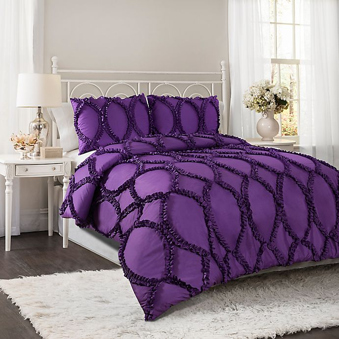 Lush Decor Avon Comforter Set Bed