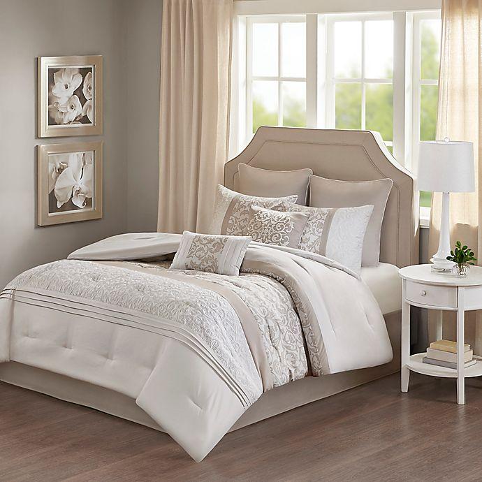Alternate image 1 for 510 Desgin Ramsey Embroidered Comforter Set