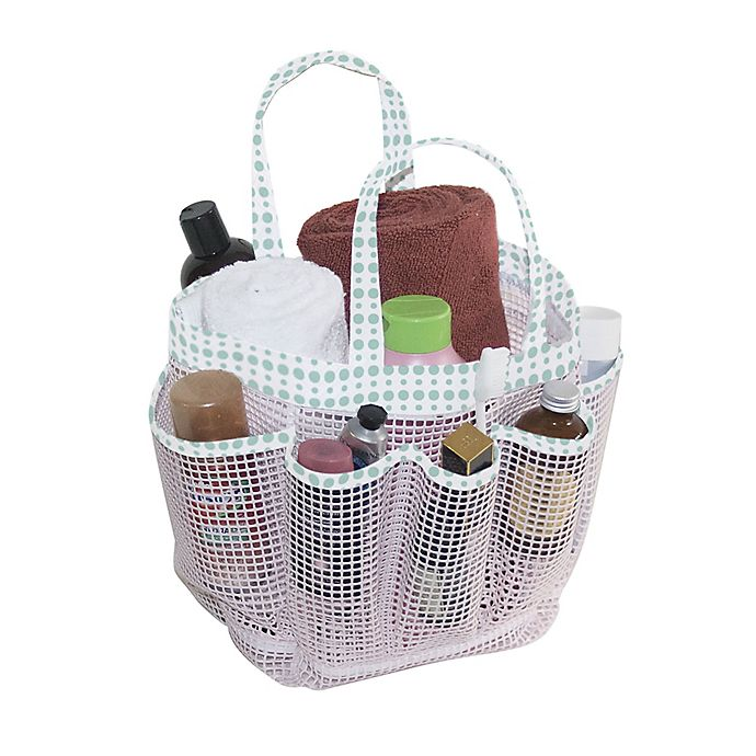 Alternate image 1 for Mesh Shower Tote