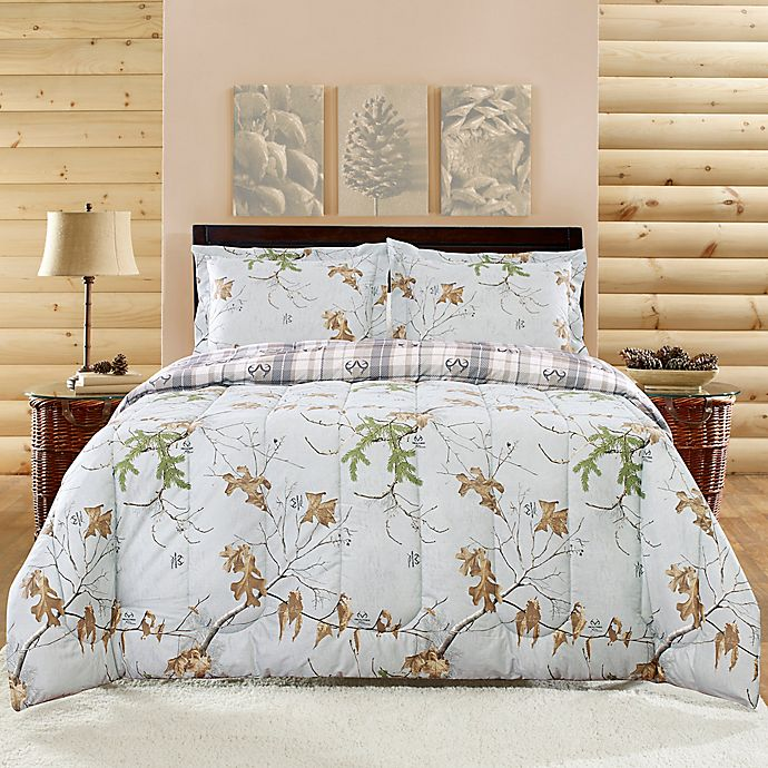 Alternate image 1 for Realtree® Camouflage Full Comforter Set
