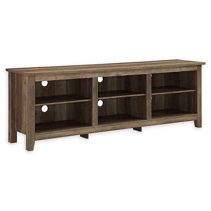 Alternate image 1 for Forest Gate 70-Inch Asher Traditional Wood TV Stand in Oak