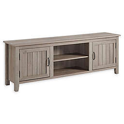 Forest Gate Sage Farmhouse Beadboard Doors TV Console