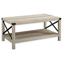 Forest Gate™ Englewood 40-Inch Coffee Table in White Oak