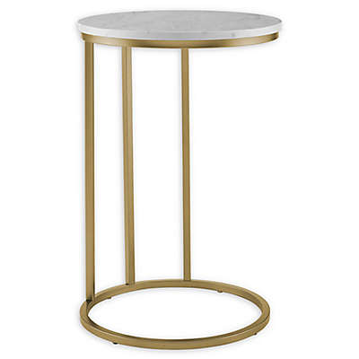 """Forest Gate 16"""" Connie Modern Round Side Table"""