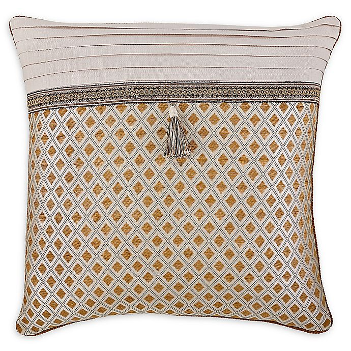 Alternate image 1 for Croscill® Philomena European Pillow Sham in Beige
