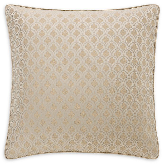 Alternate image 1 for Waterford® Abrielle European Pillow Sham in Champagne