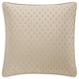 Waterford® Abrielle European Pillow Sham in Champagne