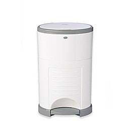 Dékor® Plus Hands-Free Diaper Pail in White with Refill