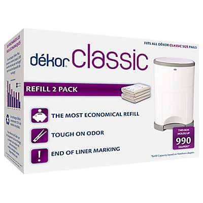Dékor® Classic Hands-Free Diaper Pail Refills (2-Pack)