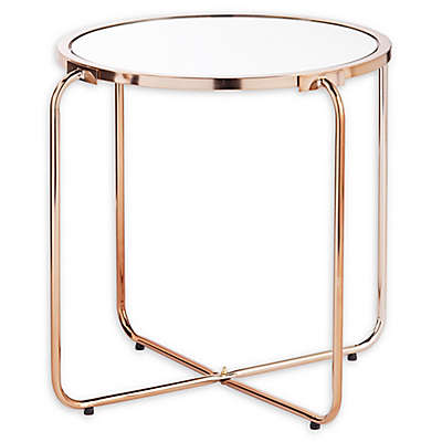 Southern Enterprises Eliza Accent Table with Mirrored Top