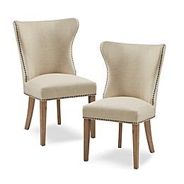 Madison Park™ Solid Wood Construction Upholstered Skylar Dining Chairs (Set of 2)