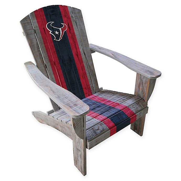 Alternate image 1 for NFL Houston Texans Wooden Adirondack Chair