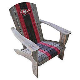 NFL San Francisco 49ers Wooden Adirondack Chair